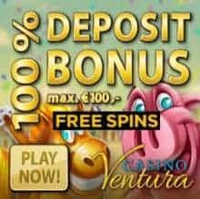 Casino Ventura 20 free spins on Jimi Hendrix - no deposit bonus