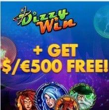 Dizzy Win Casino free spins bonus