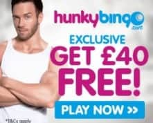 Hunky Bingo Casino 100 Free Spins and 200% Free Bonus