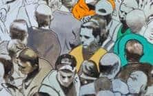 Khaled Hourani Palestinian Artist Banner