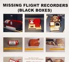Image of an FBI Ground Zero poster asking for help finding the black boxes