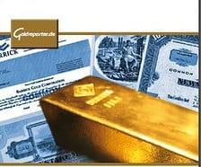 Gold-Aktien