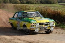 Götz Pfauder - Opel Ascona A - Legend Twente Rally 2014