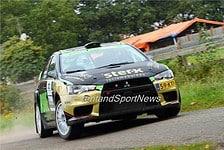 Antoine van Ballegooijen - Mitsubishi Lancer Evo X - GTC Rally 2015