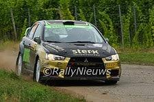 Antoine van Ballegooijen & Johan Findhammer - Mitsubsihi Lancer ERvo X - ADAC Rallye Deutschland 2016