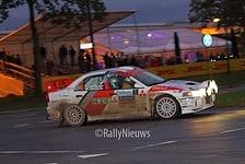 Piet van Hoof & Max Jacobs - Mitsubishi Lancer Evo IV - Twente Rally 2017