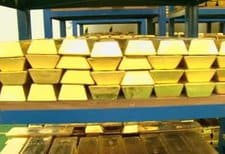 Gold, Bank of England
