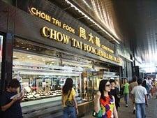 Chow Tai Fook Jewellery, Schmuck, Händler