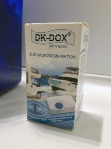 Frischwassertank reinigen - DK-DOX Aktiv Basic