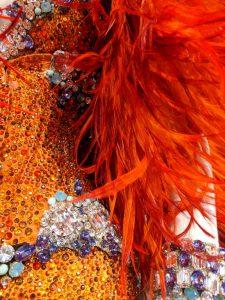 Dita Von Teese Costume Closeup