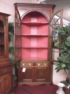Victorian Corner Cupboard