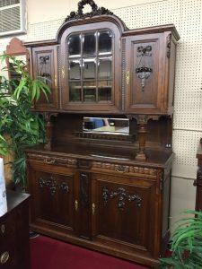 Art Nouveau French Cabinet