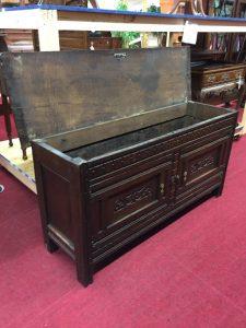 antique immigrants chest