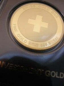 Schweiz Goldbarren (Foto: Goldreporter)