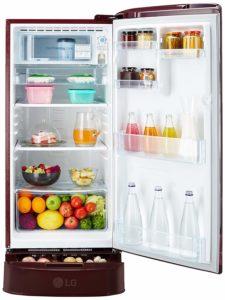 Best LG single door Refrigerator in India 15000