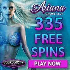 335 free spins (exclusive) + €1600 free bonus credits