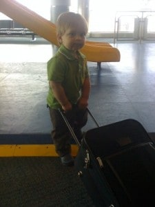flying with a toddler, flying with baby, passport, baby airport, baby suitcase, passport for baby, need a passport