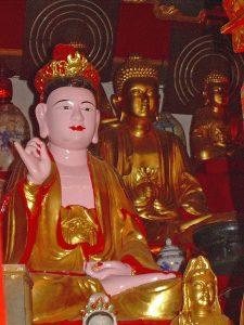 Buddha figures in Hanoi