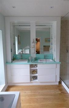 Meuble de salle de bain sur mesure Albi