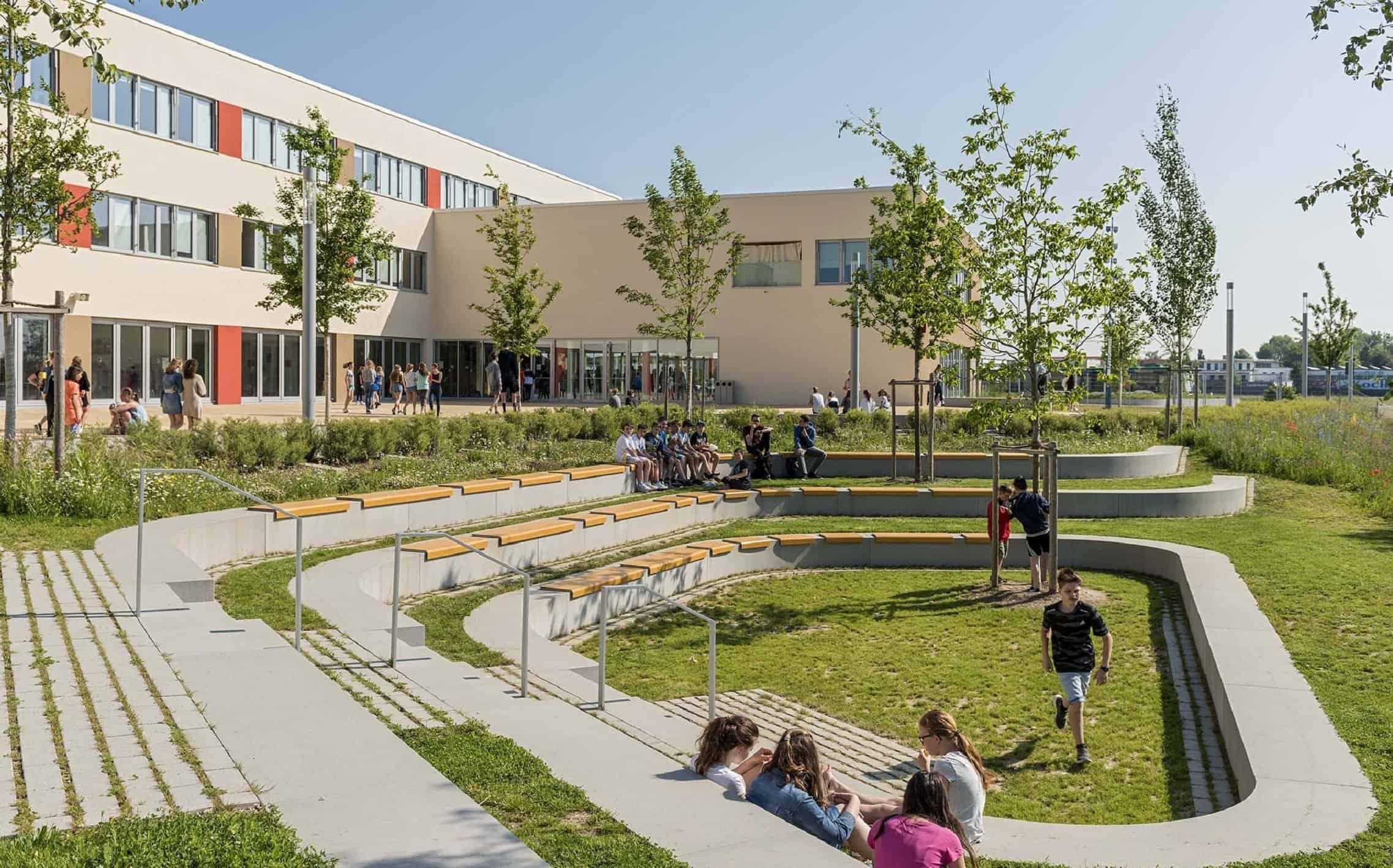 Bild: Grünes Klassenzimmer im Freiraum, Foto: Johann Hinrichs Photography
