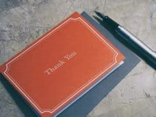 Writing thank you notes is an important way to teach gratitude to kids.