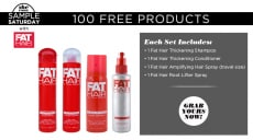 FREE FAT Hair Products Giveaway! (100 Winners!)