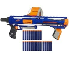 nerf n strike blaster -Awesome holiday Christmas gift ideas for kids of all ages! LivingLocurto.com