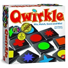 Quirkle Game for kids - Awesome holiday Christmas gift ideas for kids of all ages! LivingLocurto.com