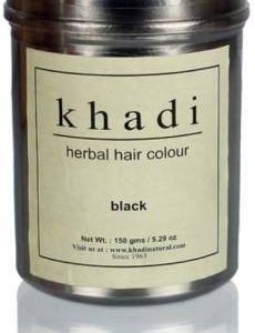 Khadi Natural Herbal Black Henna  (300 g)