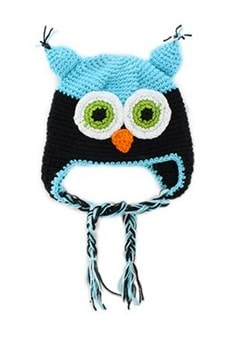Owl Knit Hat - Awesome holiday Christmas gift ideas for kids of all ages! LivingLocurto.com