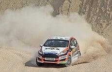 Mats van den Brand - Ford Fiesta R2 Ecoboost - WRC Spanje 2015