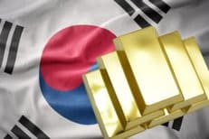 Gold, Südkorea
