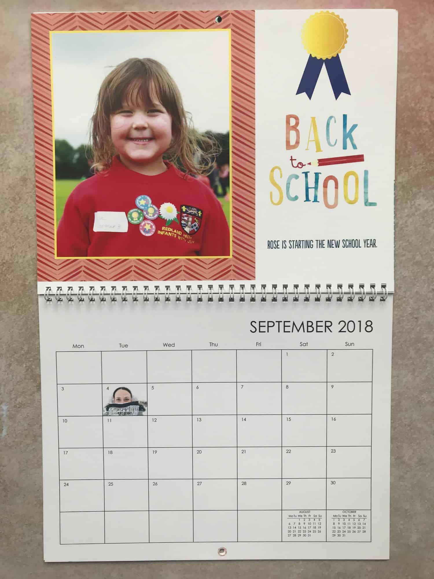 Snapfish calendar review