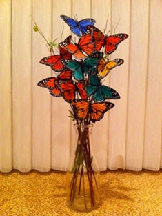 A Butterfly Bouquet in real life
