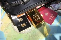 Gold, Ausland