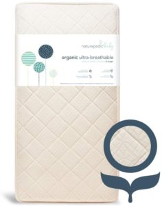 Naturepedic Organic 2-Stage Crib Mattress