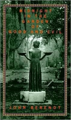 The bird girl on the cover of midnight in the garden of good & evil