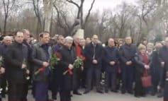 ՏԵՍԱՆՅՈՒԹ. Անդրանիկ Մարգարյանի մահվան տարելիցի հիշատակի միջոցառմանը մասնակցում էր նաև Սերժ Սարգսյանը