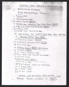 MEW Pageant Setlist 1996