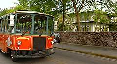 Key west in the florida keys has handy trolley tours
