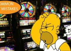 common slot mistakes homer