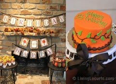 Fall Autumn Party Ideas
