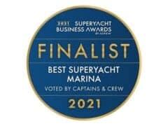 ACREW Finalist best Superyacht marina