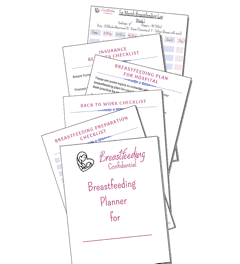 Breastfeeding Planner by Breastfeeding Confidential
