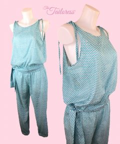 The Tailoress PDF Sewing Patterns - Jumpsuit Pattern