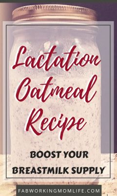Lactation Oatmeal Recipe