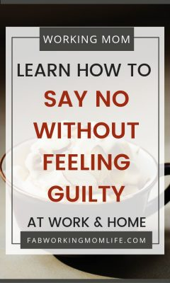 "If you're thinking ""when I say no I feel guilty"" then you're not alone! But what other reasons keep us from saying no? Let's learn tips on how to say no without feeling guilty. Read on to learn how to say no at work and at home as well as how to say no to family and friends."