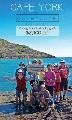 14day, tours, cape york, bush camping, australia