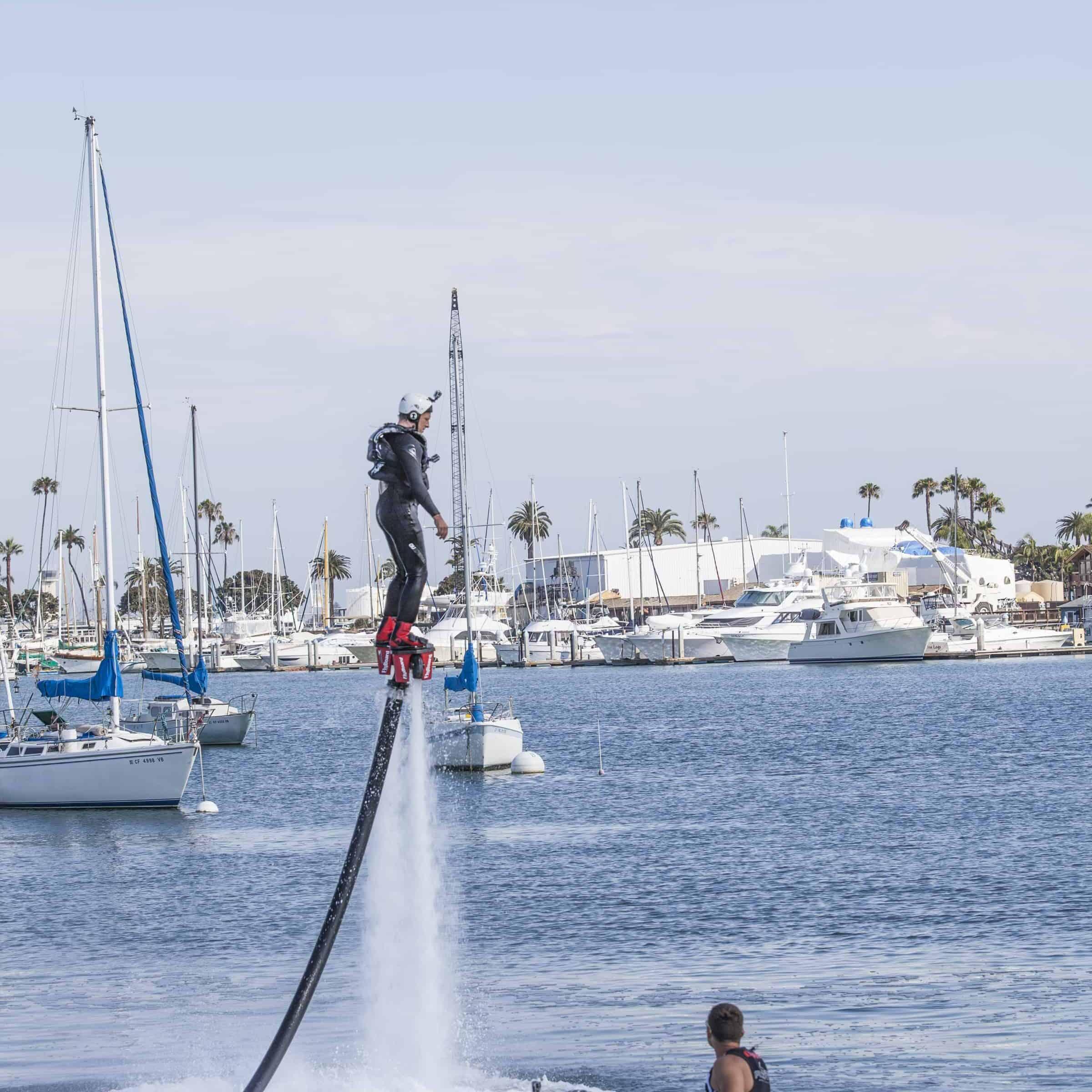 mike rowe flyboard flyboarding san diego
