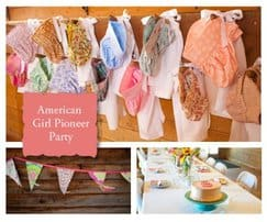 American Girl - Birthday Party Printables and Ideas